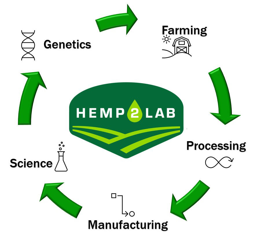 Hemp2Lab Product Life Cycle