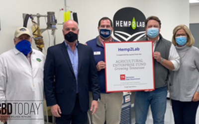 Hemp2Lab Receives $50,000 Tennessee Agricultural Enterprise Fund Grant